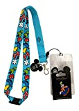 Disney Mickey Mouse Lanyard with Limited Edition Goofy Collectible Trading Pin