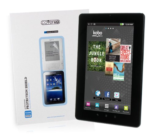 "Cover-Up Kobo Vox 7"" eReader Tablet PC Crystal Clear Invisible Screen Protector from Electronic-Readers.com"