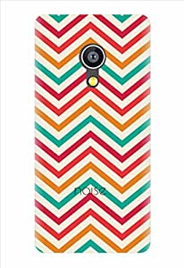 Noise Classy Aztec-White Printed Cover for Micromax Canvas Fire 4G Q411