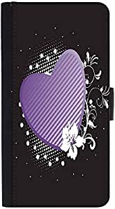 Snoogg Abstract Floral Frames Seriesdesigner Protective Flip Case Cover For H...
