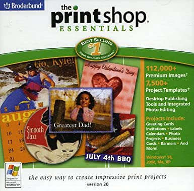 The Print Shop 20 Essentials Book Cover
