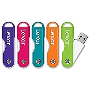 Lexar LexarTM JumpDrive TwistTurn USB Flash Drive, 16GB, Assorted Colors Easily slips onto a keychain or into a bag, so it's always with you without being in the way.