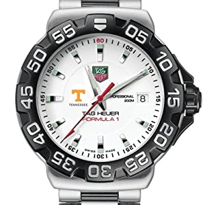 University of Tennessee TAG Heuer Watch - Mens Formula 1 Watch with Bracelet by TAG Heuer