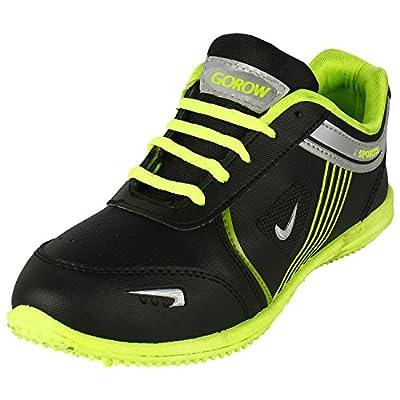 Earton Men's Black Sports & Outdoor Shoes