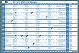 Nobo 2401764 Tableau planning scolaire souple 2015/2016 Blanc...