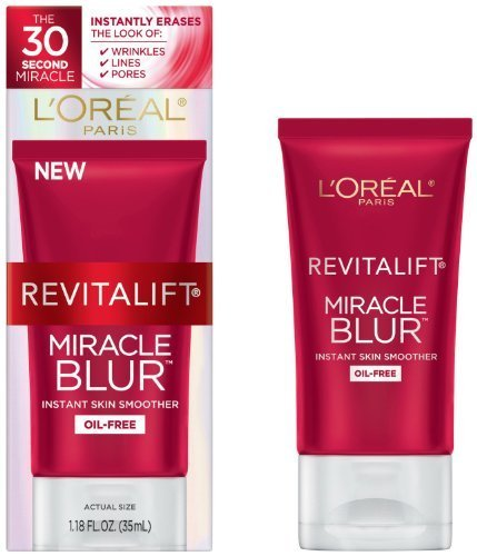 2-pack-of-loreal-revitalift-miracle-blur-oil-free-instant-skin-smoother-118-fl-oz