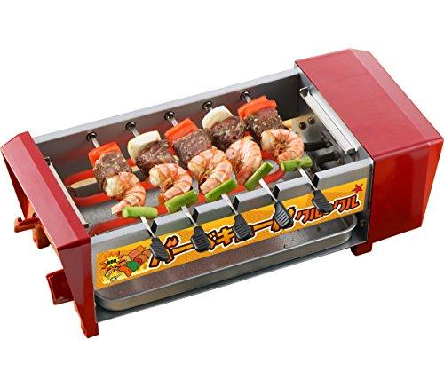 三ッ谷電機 卓上バーベキューコンロ バーベキュー村クルクル 電気コンロ バーベキューグリル 焼肉 焼鳥 BBQ-889