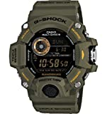 Casio G-Shock Digital Dial Green Resin Strap Mens Watch GW9400-3CR