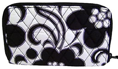 Vera Bradley Zip Around Wallet (Night & Day)