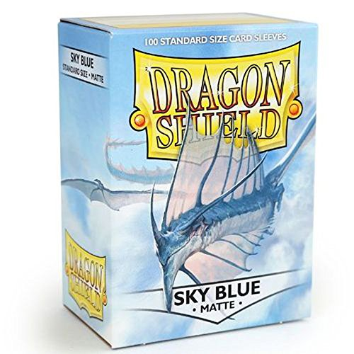 dragon-shield-standard-matte-sky-blue-100-protective-sleeves