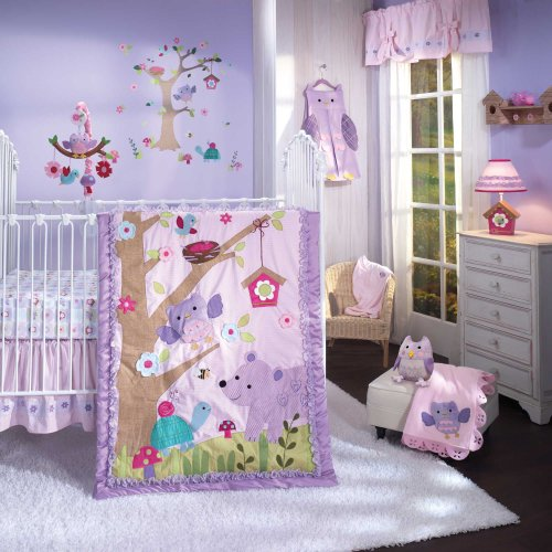 Lambs & Ivy Mystic Forest 7 Piece Crib Bedding Set front-965694