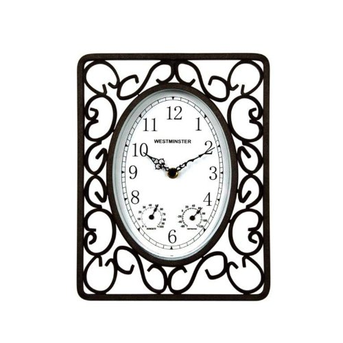 Luster Leaf Harrogate Scroll 20055 Clock