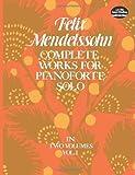 Complete Works for Pianoforte Solo, Vol. 1 (0486231364) by Mendelssohn, Felix