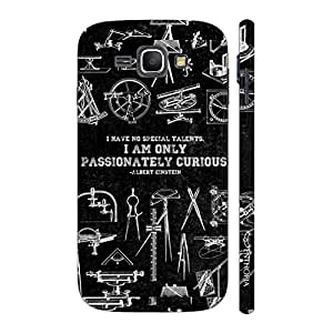 Enthopia Designer Hardshell Case Passionately Curious Back Cover for Samsung Galaxy J1