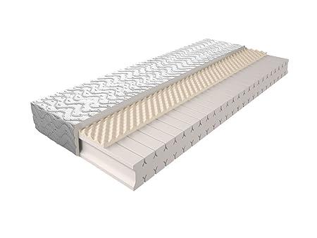Matratze mit Schaumstoffkern 009 - Größe: 140 x 200 cm, Höhe: 17 cm