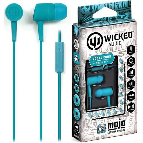 Wicked Audio Wi2256 In-Ear Mojo Earbuds With Mic