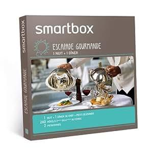 SMARTBOX - Coffret Cadeau - Escapade gourmande