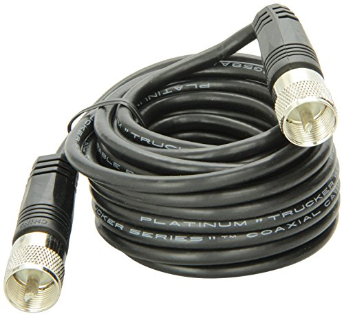18' RG-58A/U Coaxial Cable With Pl-259 Connectors