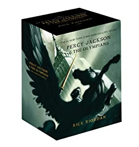 Percy Jackson pbk 5-book boxed set (Percy Jackson & the Olympians) from Disney-Hyperion