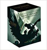 Percy Jackson pbk 5-book boxed set (Percy Jackson and the Olympians)