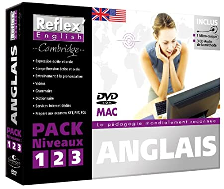 Reflex'English Cambridge - Pack niveaux 1+2+3 (Mac)