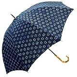 藍染め日傘☆藍染めしぼり生地 婦人用 日傘 通販☆【小紋】