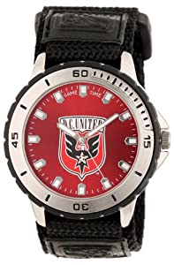 Game Time Mens MLS-VET-DC Washington DC United Veteran Round Analog Watch by Game Time
