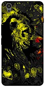 The Racoon Grip printed designer hard back mobile phone case cover for Oneplus X. (Rasta Lion)