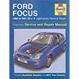 "Ford Focus Service and Repair Manual (Haynes Service and Repair Manuals)von ""P Gill"""