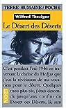 Les déserts des déserts par Thesiger