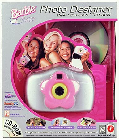 Barbie Photo Designer Digital Camera & CD-ROM