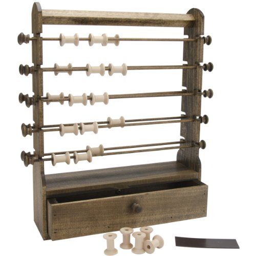 For Sale! Edmunds Antique Thread Keeper, 12 by 3-1/2 by 16-Inch