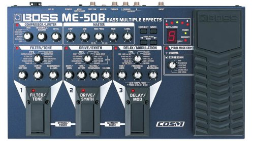 Boss Me-50B Bass Multiple Effects With Cosm (japan import)