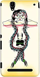 DailyObjects Rapunzel Case For Sony Xperia T2 Ultra