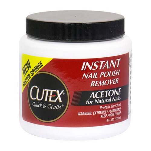 Cutex Quick & Gentle Instant Nail Polish Remover - 6 fl oz