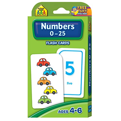 numbers-0-25-flash-cards