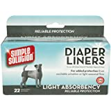 Simple Solution Disposable Liners Light Absorbency 22 Count