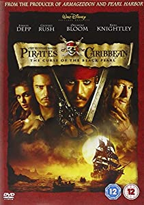 Pirates Of The Caribbean - The Curse Of The Black Pearl - 1 disc [DVD]