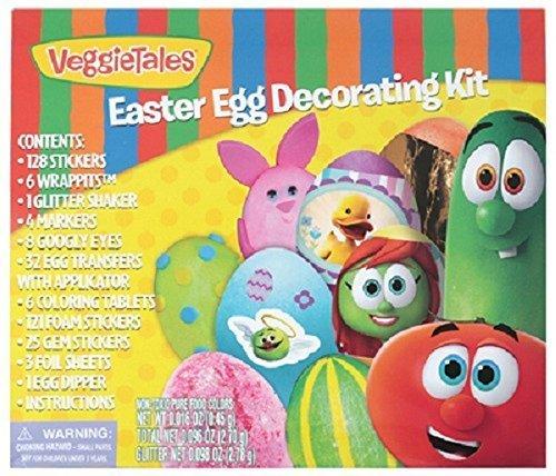 Veggie Tales Egg Decorating Kit for 3+ Years Kids