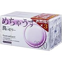 めちゃうす 2000 12個入り*3箱(コンドーム)