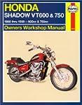 Honda Vt600 and Vt750 Shadow V-Twins...