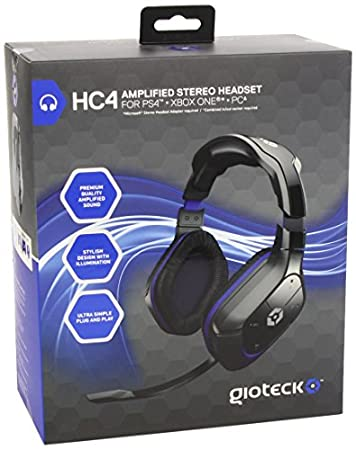 Gioteck - Headset Stereo Con Cable HC4