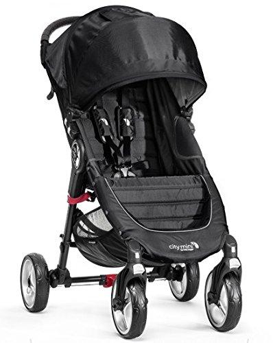 Baby Jogger City Mini 4 Wheel 2014 Black front-982421