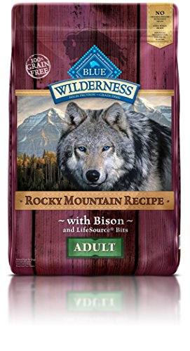 Blue Buffalo Wilderness Rocky Mountain Recipe with Bison Adu