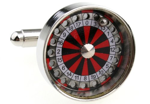 MFYS Men's Jewelry Steel Rotary Table Novelty