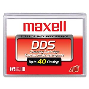 日立マクセル DAT160規格ドライブ用クリーニングカートリッジ 1巻パック DAT/CL2 XJ B