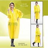 Generic Women EVA Waterproof Transparent Portable Poncho Light Waterproof Raincoat-Parent