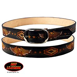 Hot Leathers Live Free, Ride Free Embossed Belt 36