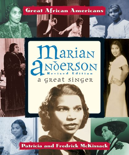 Image for Marian Anderson: A Great Singer (Great African Americans Series)
