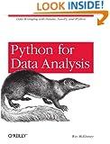 Python for Data Analysis: Data Wrangling with Pandas, NumPy, and IPython